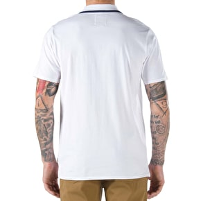 Vans Chima Polo Shirt - Bright White