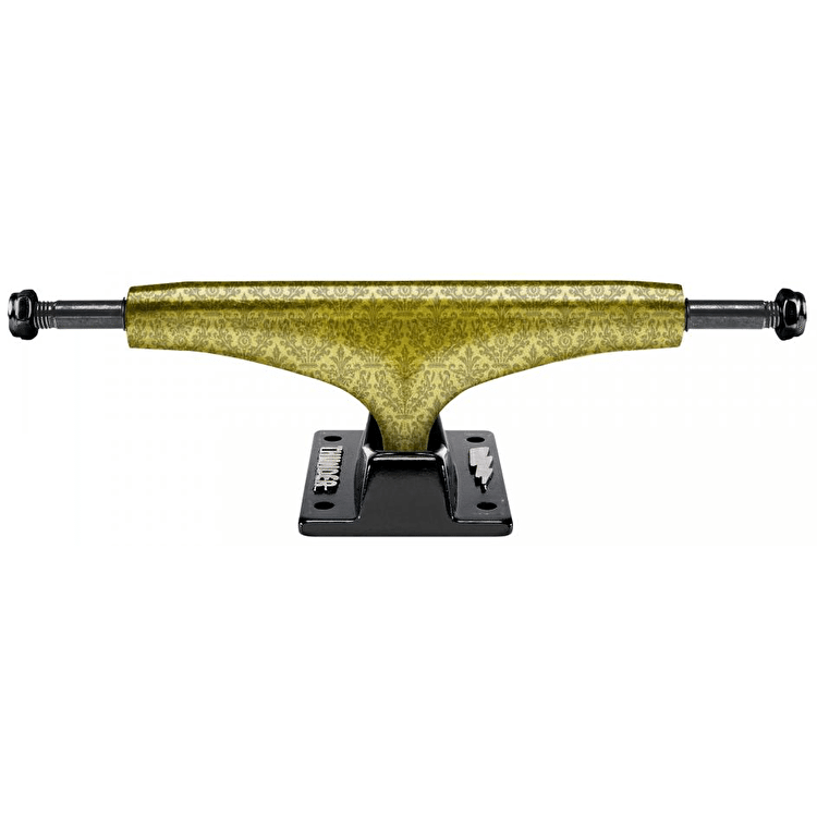 Thunder Hi 147 Hollow Lights Tonal Skateboard Trucks - Gold/Black