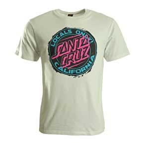 Santa Cruz T-Shirt - Locals Only White