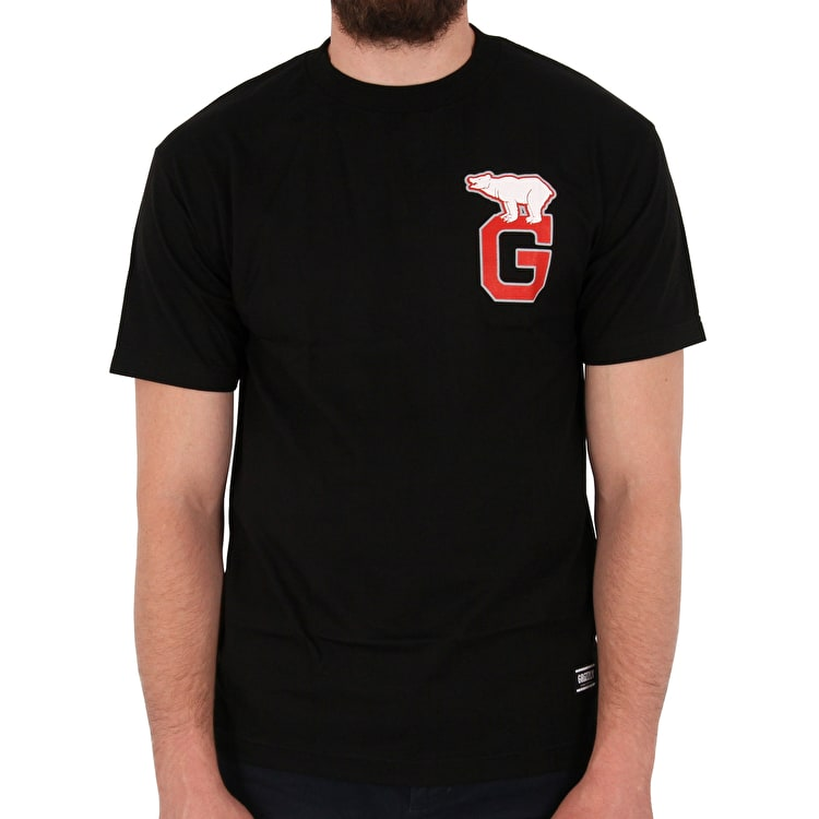 Grizzly Top Sider T-Shirt - Black