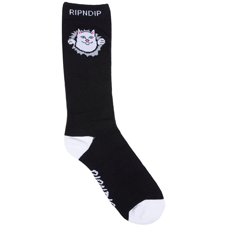 RIPNDIP Nermamaniac Socks - Black