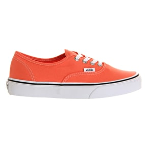 Vans Authentic Kids Shoes - Fusion Coral / True White