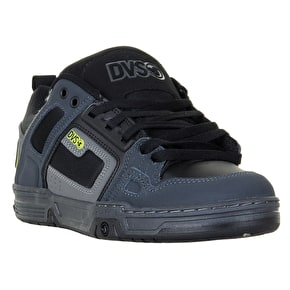 DVS Comanche Skate Shoes - Grey/Black/Lime