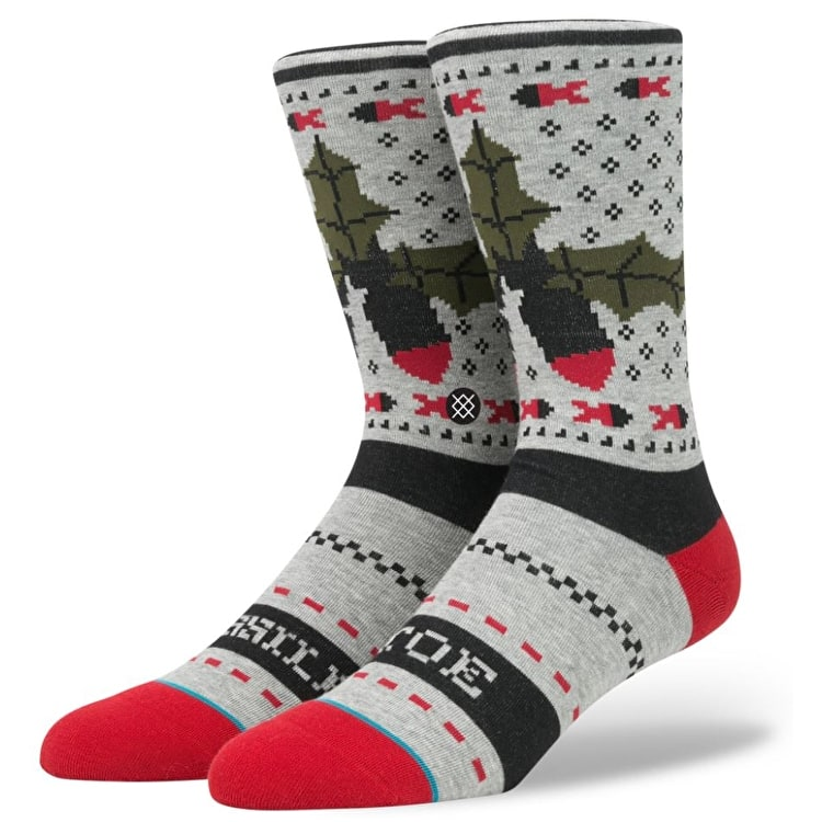 Stance Missle Toe Socks - Grey
