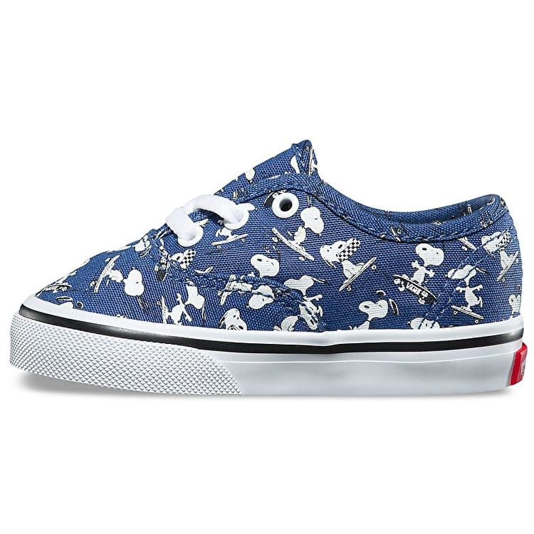 Vans x Peanuts Authentic Toddler Shoes - Snoopy/Ink Blue