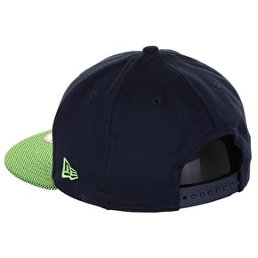 New Era 9Fifty NFL Seahawks Snapback Cap - Navy/Green