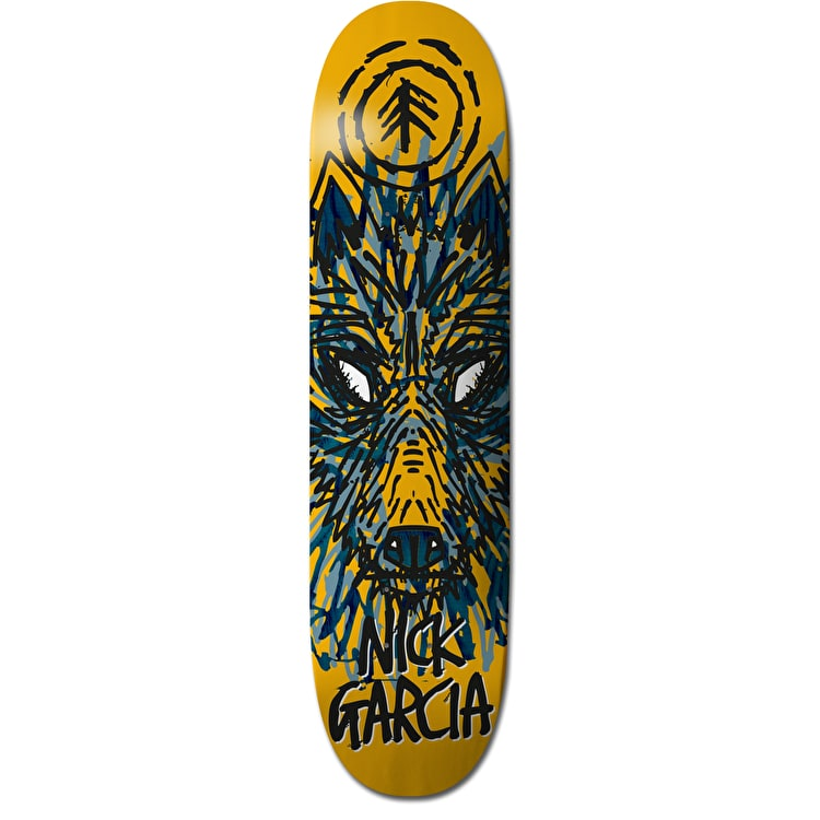 Element FOS Garcia Wolf Skateboard Deck - 8""