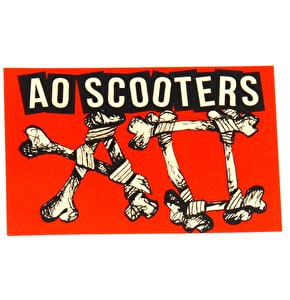 Ao Scooters Stickers - Red
