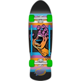 Santa Cruz Screaming Hand Neon Age Street Complete Cruiser - Multi 31.88