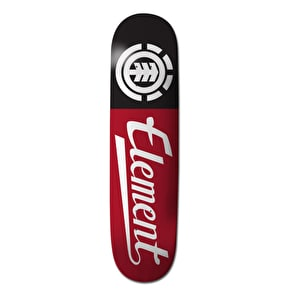 Element Script Featherlight Skateboard Deck Red - 8.25