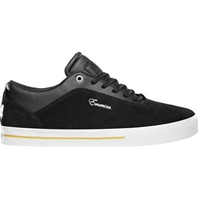 Emerica G-Code Re-Up x Vol 4 Skate Shoes - Black/White/Gold
