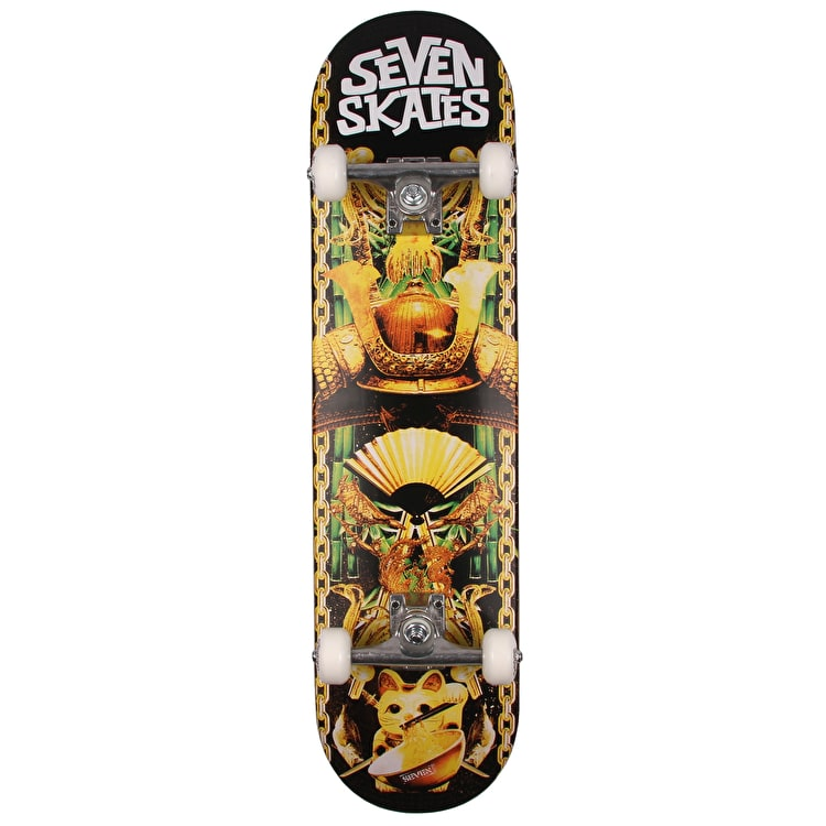 Seven Lucky Cat Complete Skateboard - 7.8""