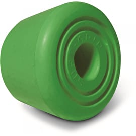 Sure-Grip Bullseye Quad Skate Toe Stops - Green (Pack of 2)