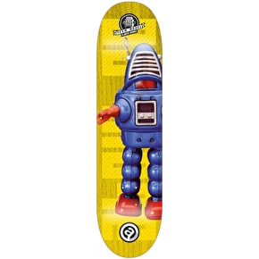 About Pro Series A-Bots Skateboard Deck - Team 8