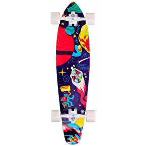 Street Surfing Space Complete Kicktail Longboard - 36