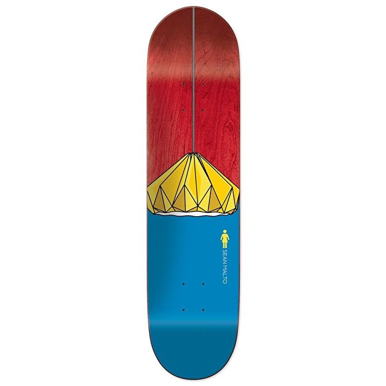 Girl Illuminated Skateboard Deck - Malto 8.25""