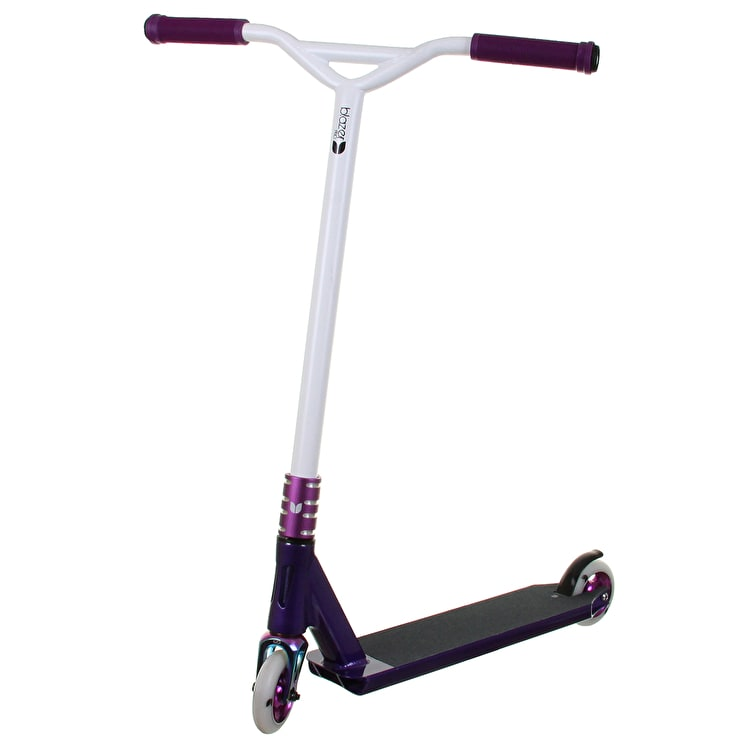 B-Stock Blunt Custom Scooter - King of Spades Purple/White (Scratched)