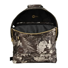 Mi-Pac Tropical Metallic Backpack - Black