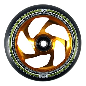 AO Mandala 110mm Scooter Wheel - Gold