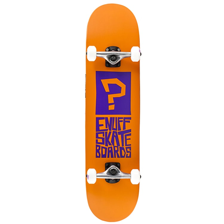 Enuff Block Icon Complete Skateboard - Orange