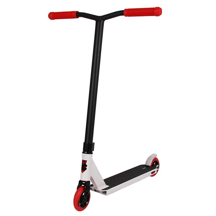 Lucky 2018 Crew Pro Stunt Scooter - White/Red
