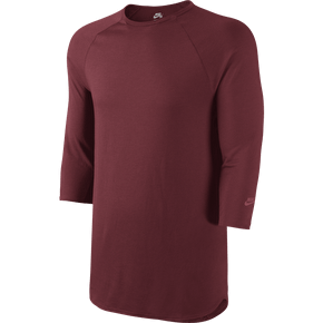 Nike SB Skyline Dri-FIT Cool 3/4 Crew - Team Red