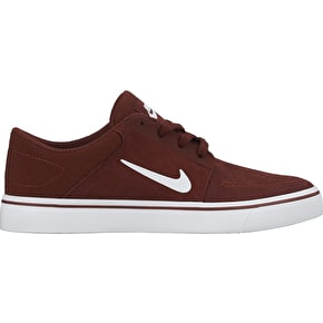 Nike SB Portmore Kids Shoes - Team Red/White