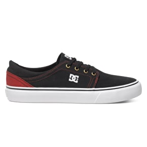DC Trase TX Shoes - Black/Red