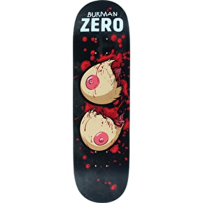 Zero Skateboard Deck - Severed Ties R7 Burman 8.5