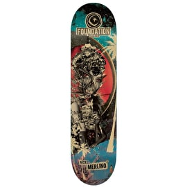 Foundation Nuclear Skateboard Deck - Merlino 8