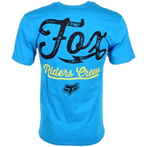 Fox Dirtquake SS Tee - Electric Blue