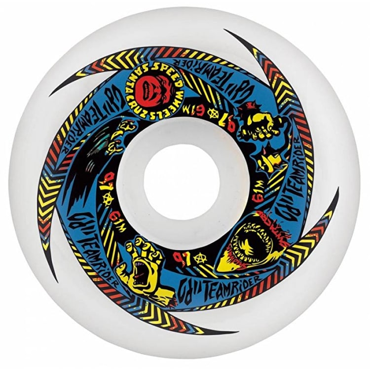 OJ II Teamrider Skateboard Wheels - 61mm