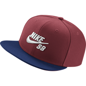Nike SB Icon Pro Cap - Team Red/Deep Royal Blue
