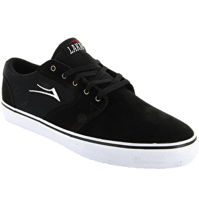 Lakai Fura Skate Shoes - Black Suede