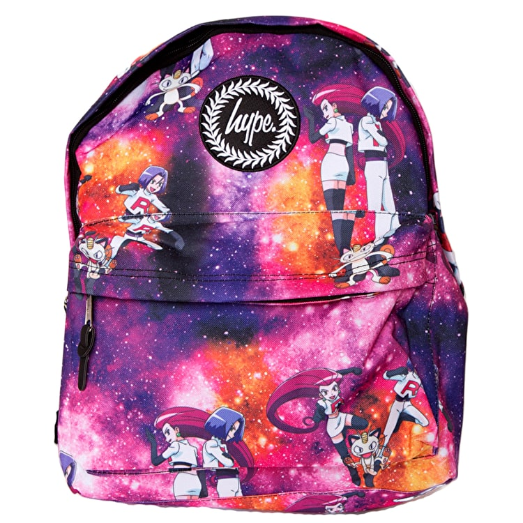 Hype X Pokemon Team Rocket Space Backpack