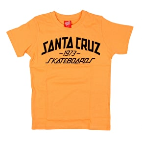 Santa Cruz Archy Kids T-Shirt - Light Orange
