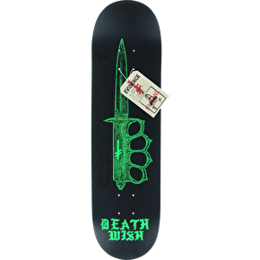 Deathwish Deadly Intent Skateboard Deck - Lizard King 8