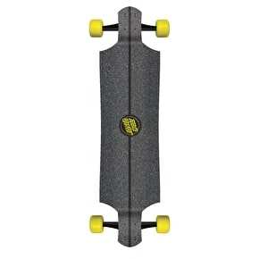 Santa Cruz Impact Drop Down Complete Longboard - Black 40