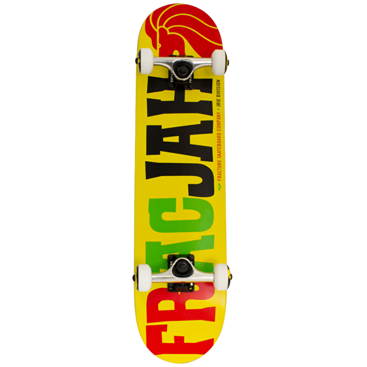 Fracture FracJah Skateboard - Yellow 7.5""