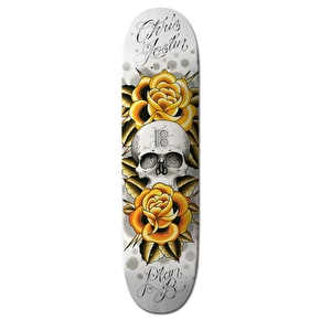 Plan B Black Ice Skateboard Deck - Joslin Aces 8.0
