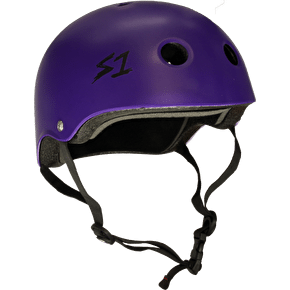 B-Stock S1 Lifer Kids Multi Impact Helmet - Purple Matte SML (Box Damage)