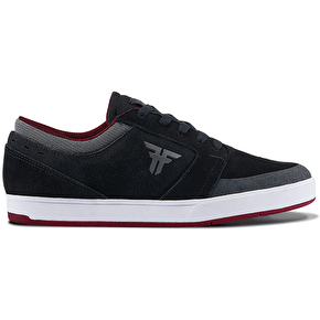 Fallen Torch Skate Shoes - Black/Ash Grey