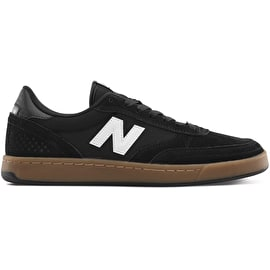 New Balance 440 Skate Shoes - Black/Gum