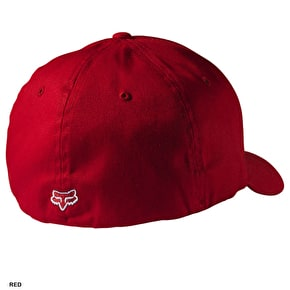 Fox Corpo Flexfit Cap - Red