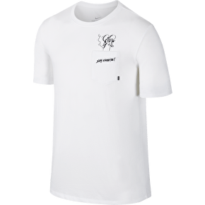 Nike SB Dri Fit Cheese T-Shirt - White/Black