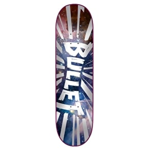 Bullet Shrapnel Skateboard Deck - Space 7.6