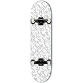 Fracture All Over Comic Complete Skateboard - White 8