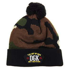 DGK Art Of War Beanie - Camo/Black