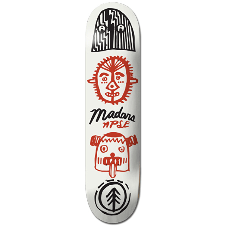 Element Skateboard Deck - Indigenous Madars 8""
