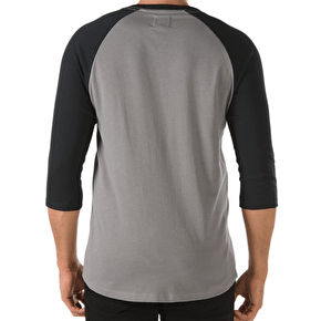 Vans Built Tough Raglan T-Shirt - Graphite/Black